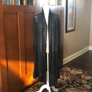 Washed black Free People cardigan- worn twice